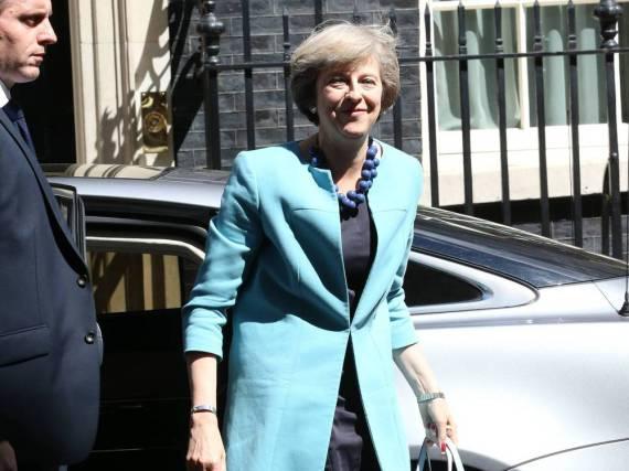 Theresa May ist die neue britische Premierminsterin