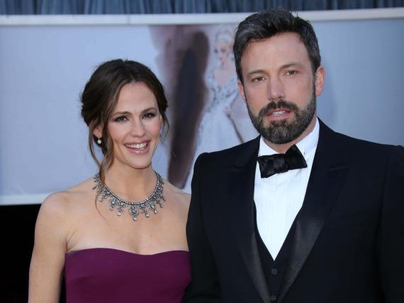 Jennifer Garner und Ben Affleck bei der Oscar-Verleihung im Jahr 2013