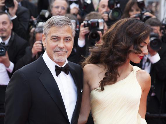 George und Amal Clooney - hier beim Filmfestival in Cannes - müssen sich nicht länger Sorgen über einen hartnäckigen Stalker machen