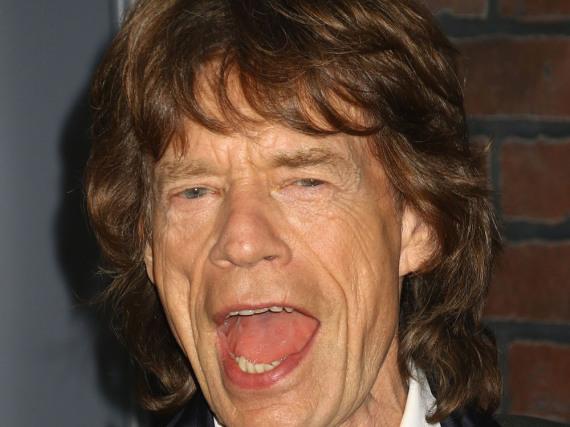 Mick Jagger wird mal wieder Papa