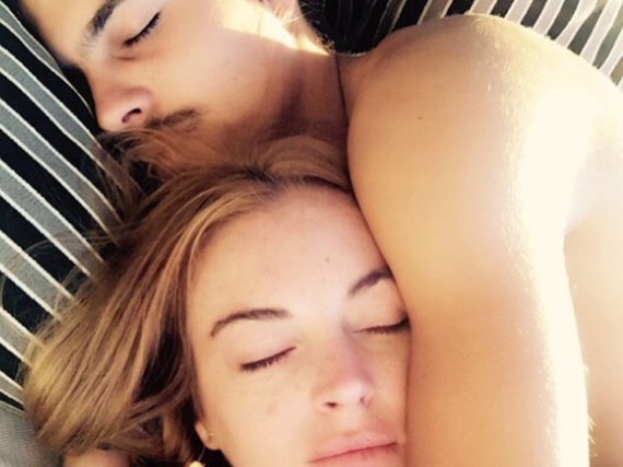 Lindsay Lohan und ihr Freund Egor Tarabasov