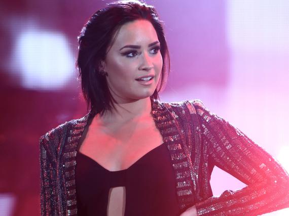 Demi Lovato bei einem Auftritt in