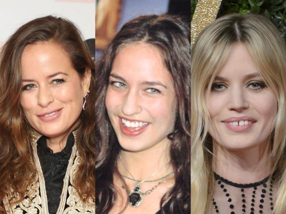 Die prominentesten Jagger-Töchter: Jade, Elizabeth und Georgia May (v.l.)