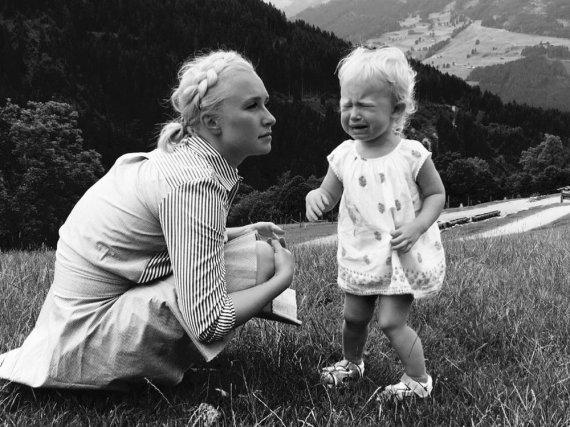 Ein Kind, viele Berge und ein gewisses Verständigungsproblem: Hayden Panettiere versteht nur Bahnhof