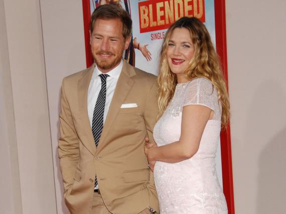 Ein Bild aus glücklichen Zeiten: Drew Barrymore im Jahr 2014 mit ihrem Noch-Ehemann Will Kopelman
