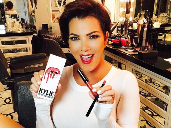 Kris Jenner freut sich auf Twitter über das Geschenk ihrer Tochter Kylie