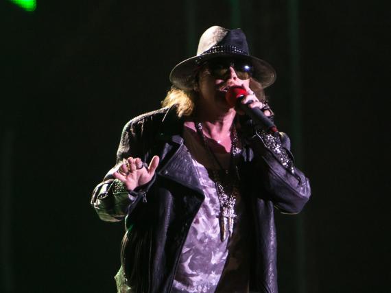 Ärger mit dem Gesetz: Im Tourbus von Axl Rose und Guns N' Roses sind Waffen