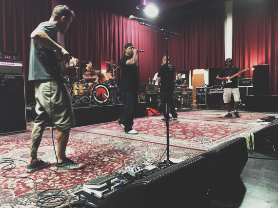 Die Prophets of Rage während einer Probe zu ihrer anstehenden Europa-Tour.
