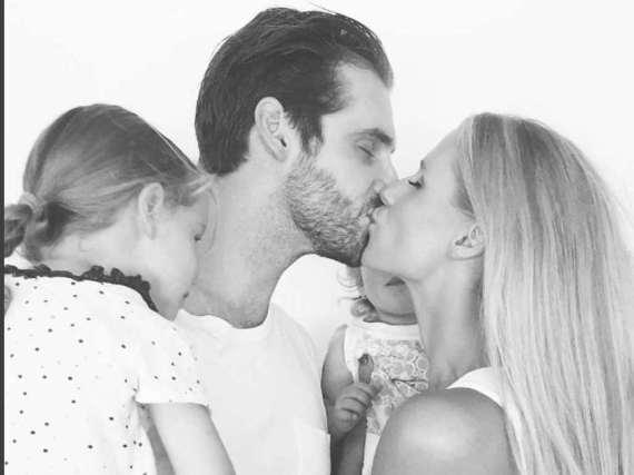 Ein Sohn könnte das Familienglück der Trussardis noch perfekter machen.