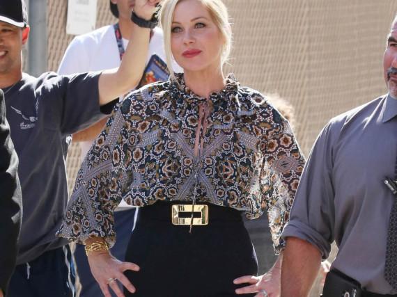 Christina Applegate bei einem Auftritt in Hollywood