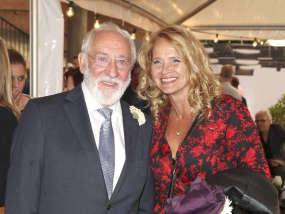 Liebe kennt keine Altersgrenzen: Dieter Hallervorden und seine Freundin Christiane Zander