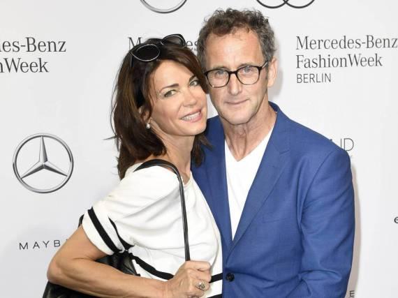 Gerit Kling und Wolfram Becker bei der Berliner Fashion Week Ende Juni 2016