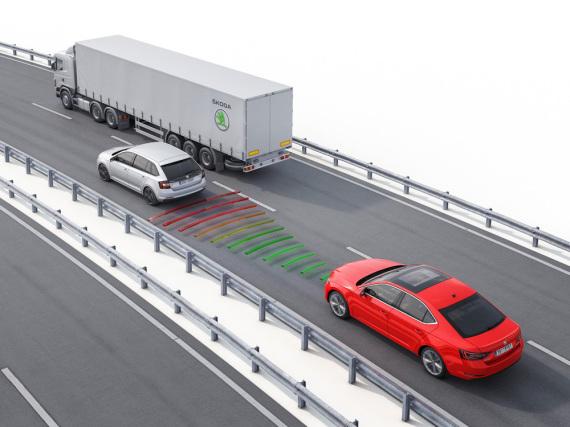 Skoda will Unfälle mithilfe moderner Technik verhindern