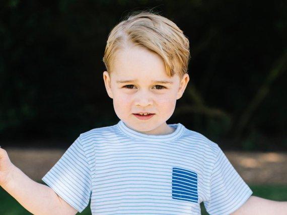 Prinz George: Kraft seines künftigen Amtes schon jetzt ein erfahrener kleiner Kerl