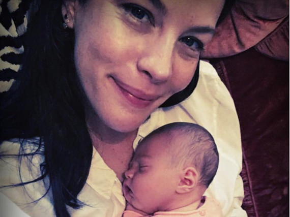 Schauspielerin Liv Tyler und ihre Tochter Lula Rose Gardner