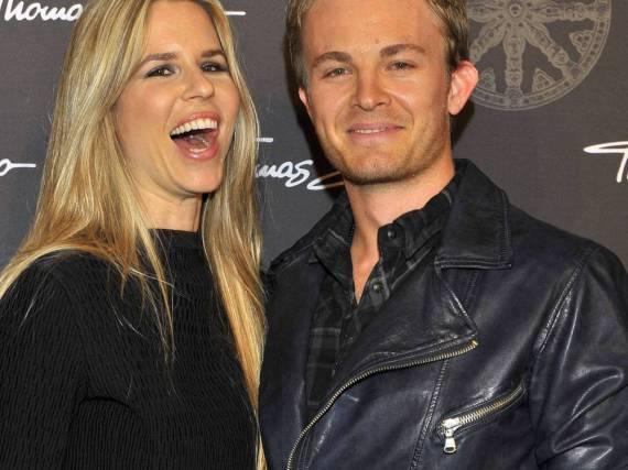 Nico Rosberg mit Frau Vivian