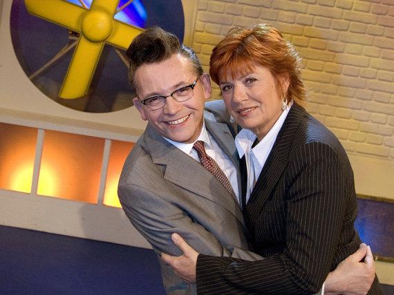Ein eingespieltes Team: Christine Westermann und Götz Alsmann