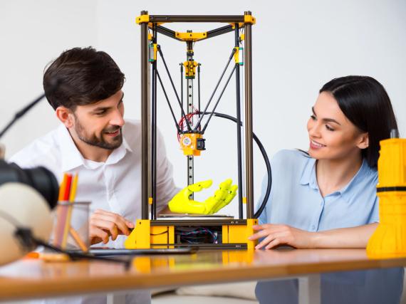 3D-Drucker werden immer kompakter und billiger