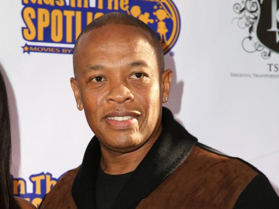 Rap-Mogul Dr. Dre hat überraschend Besuch von der Polizei bekommen