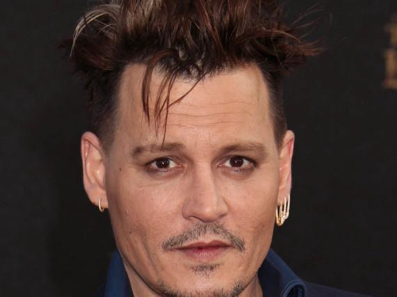 Johnny Depp bei einem Auftritt in Los Angeles
