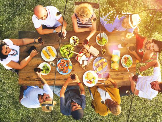 Sommer, Sonne, leckere Gerichte