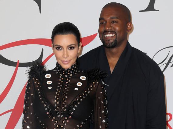 Kim Kardashian und Kanye West sind seit 2014 glücklich verheiratet