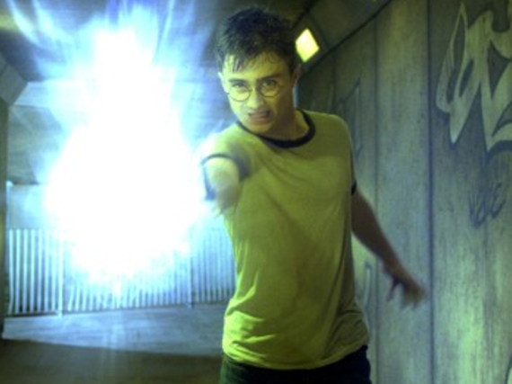 Harry Potter (Daniel Radcliffe) in