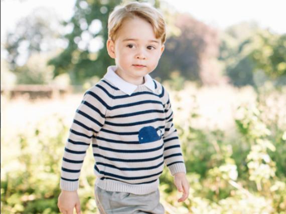 Prinz George feierte am 22. Juli seinen dritten Geburtstag