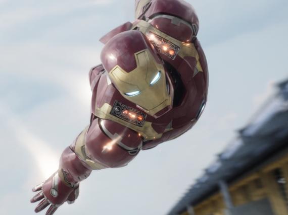 Auch Iron Man (Robert Downey Jr.) ist ein Mitglied der Avengers