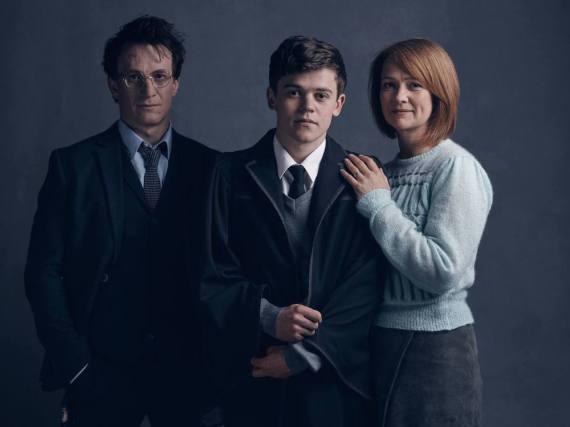 Harry, Albus und Ginny Potter im Theaterstück