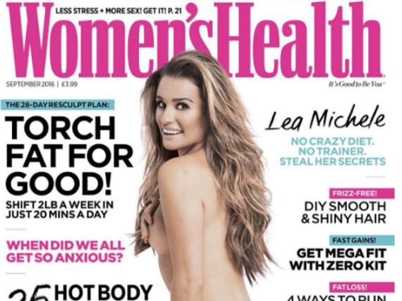 Lea Michele ist stolz auf ihren Körper