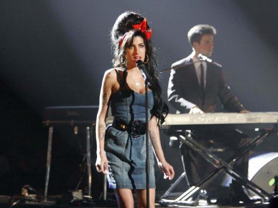 Amy Winehouse bei den MTV Awards 2007 in München