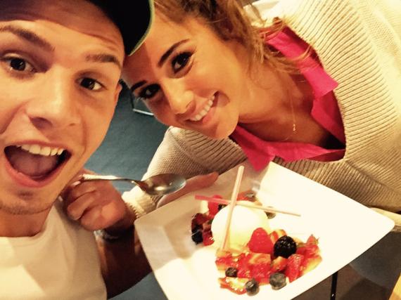 Sarah und Pietro Lombardi haben offensichtlich Spaß am Kochen und Eismachen