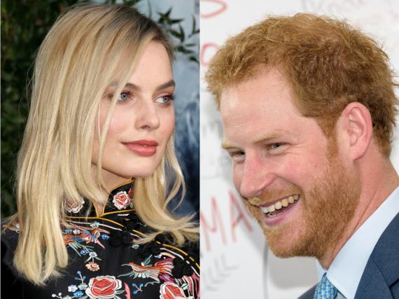 Knüpfen Margot Robbie und Prinz Harry zarte Liebesbande?