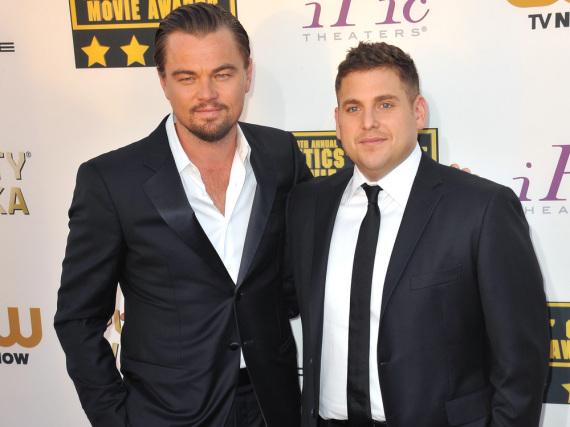 Leonardo DiCaprio (l.) und Jonah Hill waren zusammen in