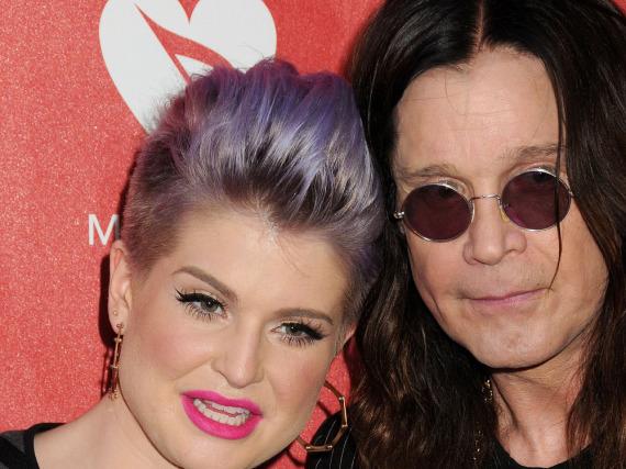 Kelly und ihr Vater Ozzy Osbourne bei einem gemeinsamen Auftritt in Los Angeles