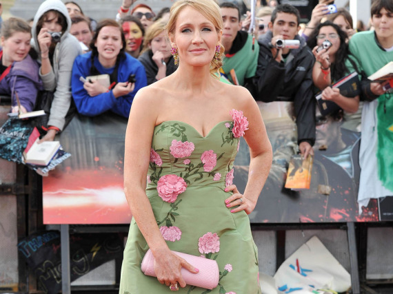 J.K. Rowling gehört natürlich zu den reichsten Autoren der Welt