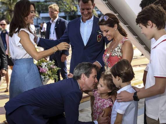 Die dänischen Royals in Rio