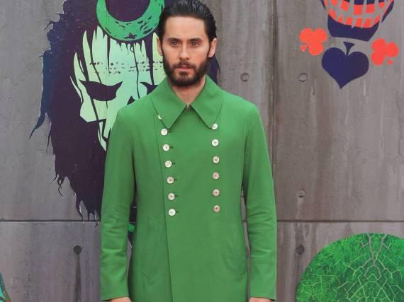 Sonst für seinen coolen Style bekannt, leistete sich Jared Leto mit diesem Gucci-Look einen Fashion-Fauxpas