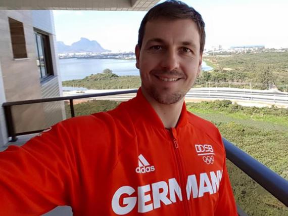 Timo Boll zeigt auf Facebook seinen Fans den Blick aus seinem Appartement in Brasilien
