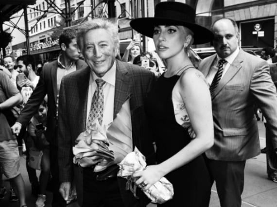 Lady Gaga und Tony Bennett haben bereits ein gemeinsames Album aufgenommen