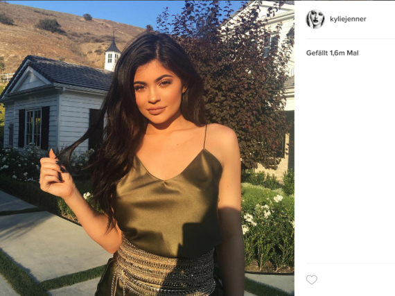 Kylie Jenner hat die Kommentar-Funktion auf ihrem Instagram-Profil blockiert
