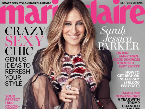 Sarah Jessica Parker auf dem September-Cover der