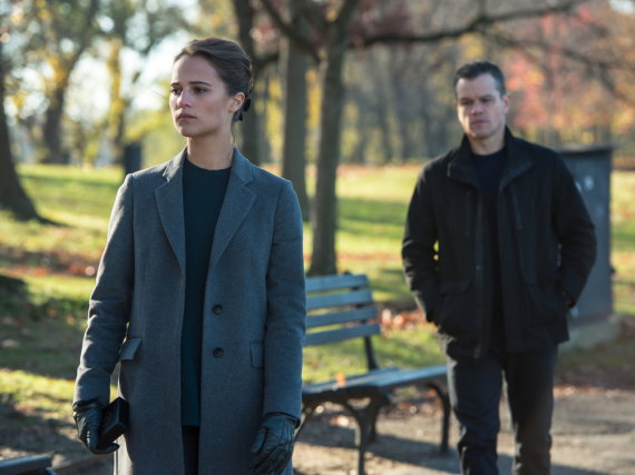 Kann Jason Bourne (Matt Damon) Heather Lee (Alicia Vikander) vertrauen?