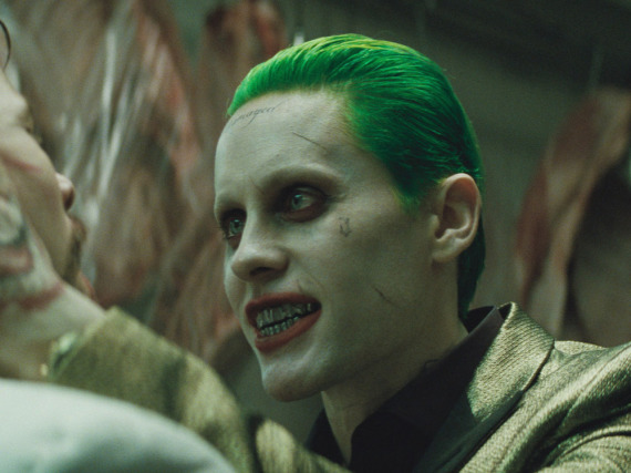 Jared Leto als Superschurke Joker in