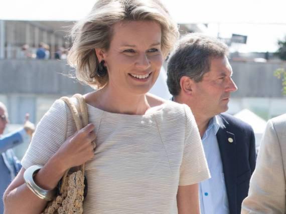 Die belgische Königin Mathilde überzeugt in Brasilien mit einer schicken Farb-Kombi
