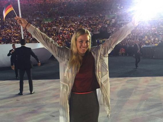 Angelique Kerber ist stolz darauf, ein Teil der deutschen Olympiamannschaft zu sein
