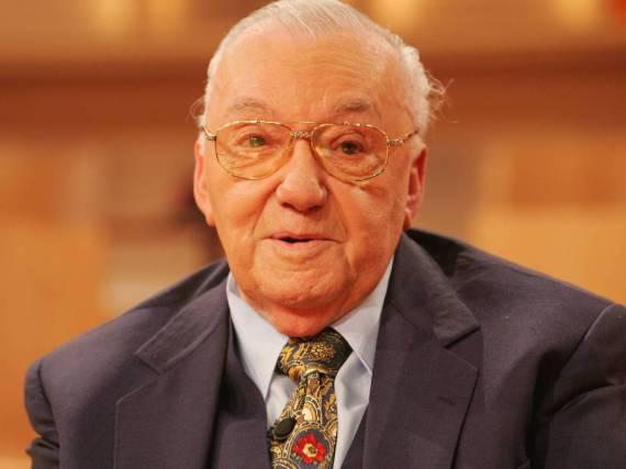 Heinz Schenk verstarb 2014 im Alter von 89 Jahren