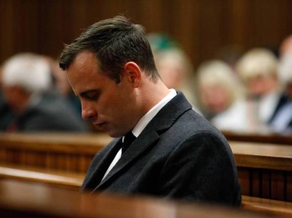 Oscar Pistorius während der Urteilsverkündung im Juli