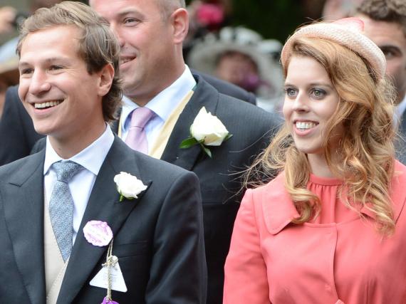 Sie galten als Traumpaar, jetzt haben sich Dave Clark und Prinzessin Beatrice offenbar getrennt